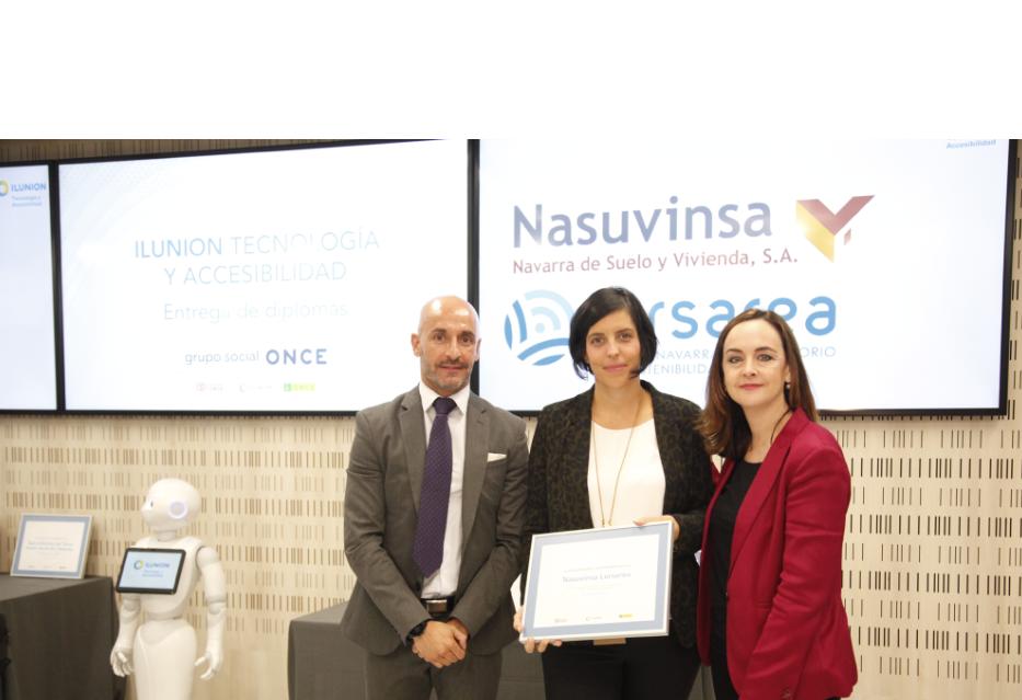 Premiada la agencia navarra Lursarea por sus aportaciones a la accesibilidad en los espacios naturales de la Red Explora Navarra