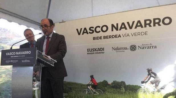 La vía verde del Vasco Navarro, industria, historia y proyecto común