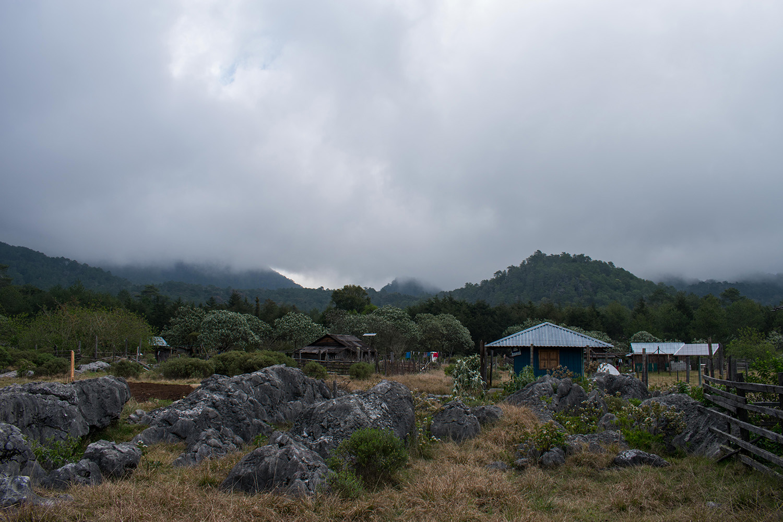 dia nublado en la trinidad