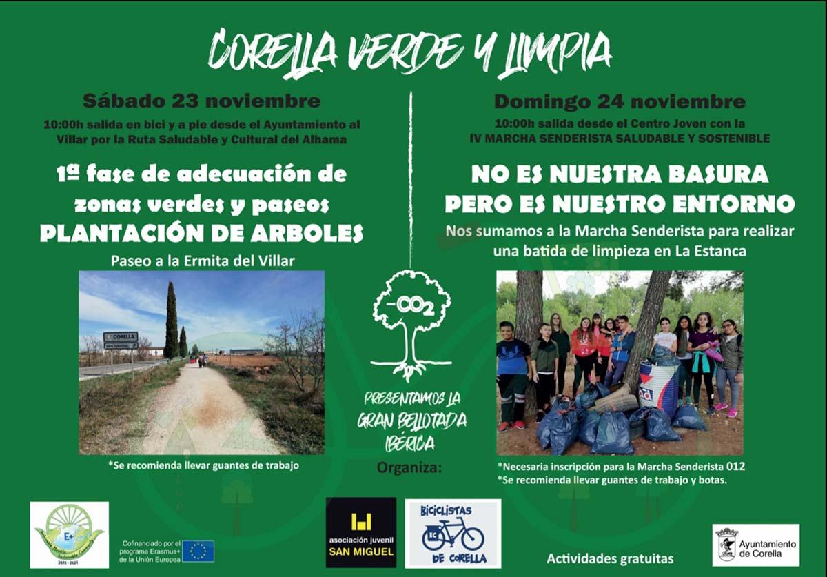 Corella verde y limpia, una campaña para concienciar sobre el medioambiente