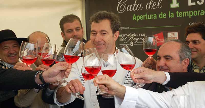 Ya han llegado los nuevos rosados a Navarra