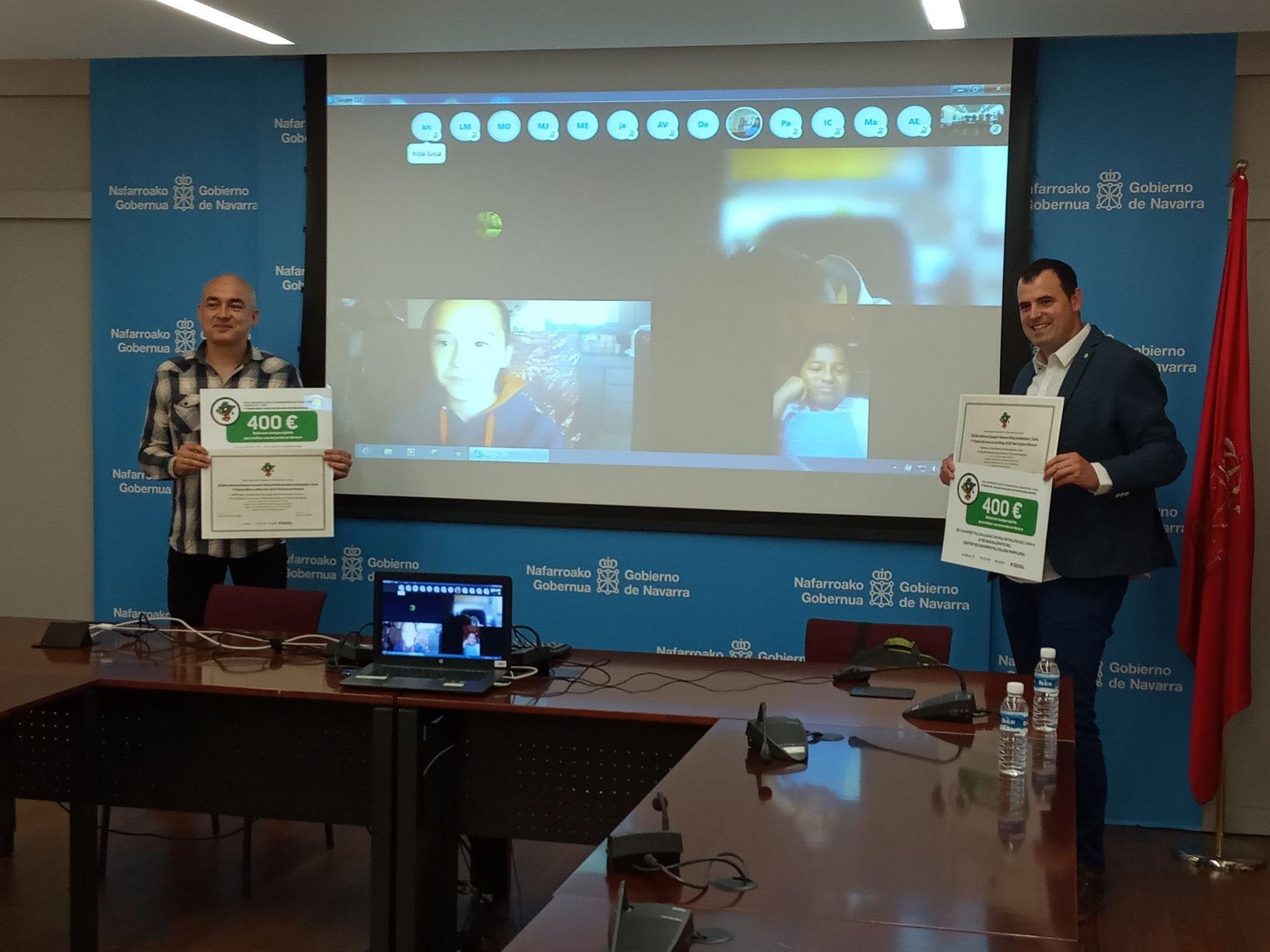 Entregados los premios de la Segunda Edición del concurso para escolares de la Red Explora