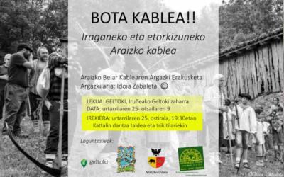 BOTA KABLEA!!: MALLOETAKO KABLEAK IRUÑEKO AUTOBUS GELTOKI ZAHARREAN