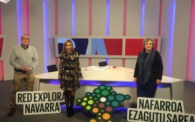 Territorio Visón, espacios de la Red Explora Navarra y Lursarea visitan La Muga