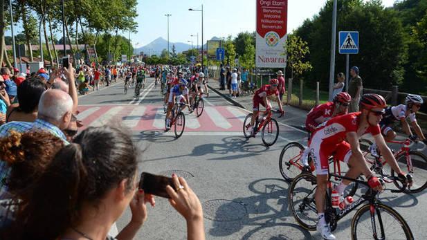La Vuelta vuelve a Urdazubi