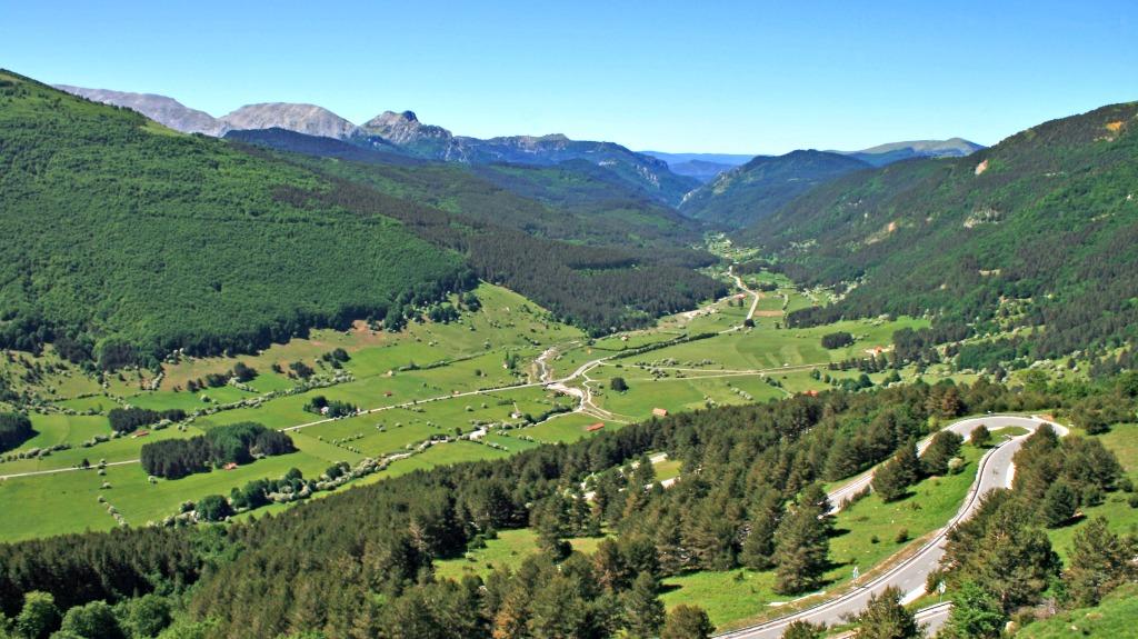 Mirador de Belagua valle del roncal